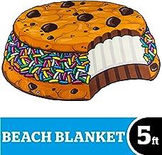 BigMouth Inc Beach Blanket, Oversized Beach Towel, Ulta-Soft Microfiber Towel, Washing Machine Friendly