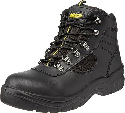 Apache Unisex-Adult AP303 Safety Boots Black 3 UK Wide