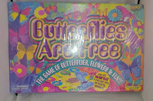 Butterflies are Free Board Game by Fundex by Fundex