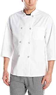 Men's 3/4 Sleeve Chef Coat
