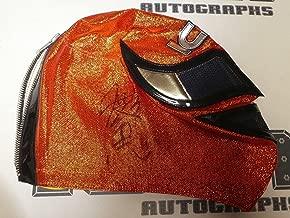 Kazushi Sakuraba Signed Machine Mask BAS COA UFC New Japan Pro Wrestling Pride 1 - Beckett Authentication