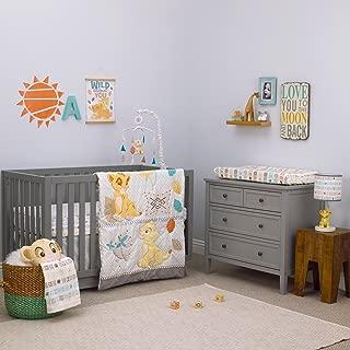 Disney Baby Lion King Circle of Life 3 Piece Nursery Crib Set