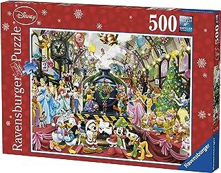 Ravensburger 14739 - Disney Christmas Train Puzzle 500pc Jigsaw Puzzle