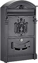 Arregui Residencia D-2151/N enkele brievenbus van aluminium in klassieke stijl, maat M (DIN A4 en tijdschriften) 42 x 26 x...