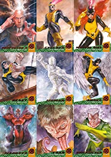 FLEER ULTRA X-MEN 2018 UPPER DECK THE ORIGINALS INSERT CHASE CARD SET 1-10 MARVEL