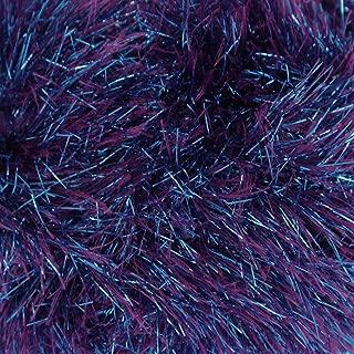 King Cole Tinsel Chunky Two Tone Knitting Yarn Sparkle Eyelash Wool 1 x 50g (Sparkler - 1784)