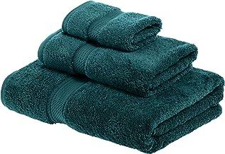 Superior 900 GSM Luxury Bathroom 3-Piece Towel Set, Made of 100% Premium Long-Staple Combed Cotton, Hotel & Spa Quality Wa...