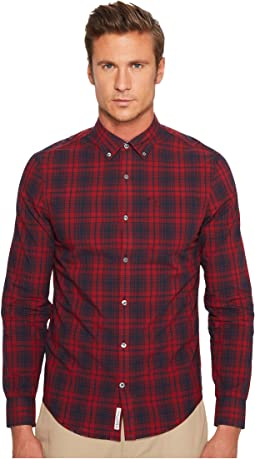 Original Penguin - Long Sleeve P55 Plaid