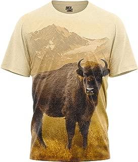 Men Women's Graphic T Shirts Short-Sleeve Crewneck Animal Print T-Shirt Wildkind