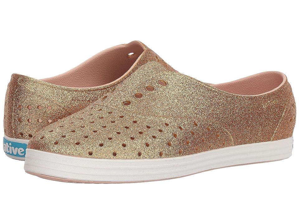 Native Shoes Jericho Bling (Rose Gold Bling/Shell White) Women