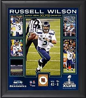 Russell Wilson Seattle Seahawks Super Bowl XLVIII Champions Framed 15
