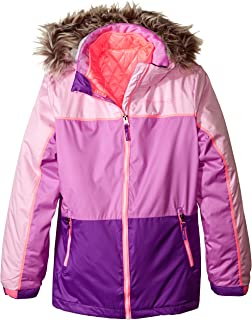 Free Country Big Girls' Systems Coat with Quilted Puffer