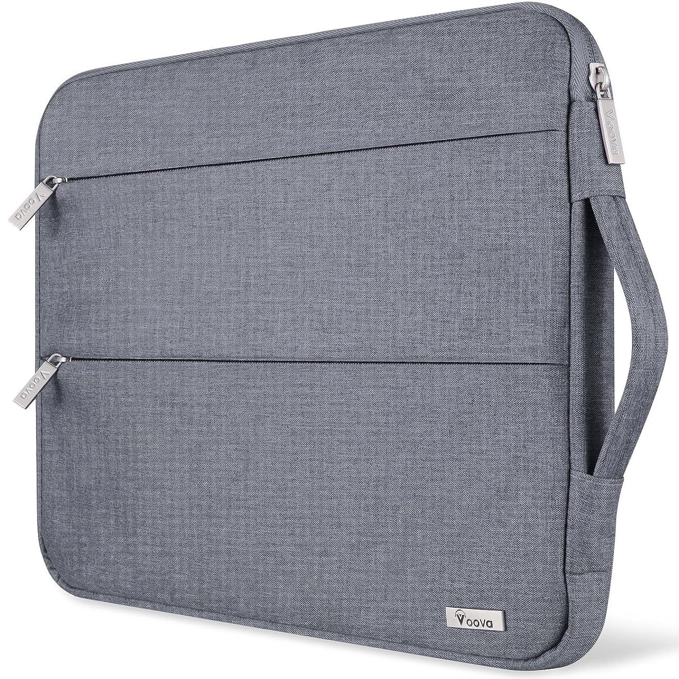 言語学宿る寝るVoova 13-13.5インチ パソコンバッグ 衝撃吸収 ラップトップ スリーブ 防水 ノートパソコン カバーケース 持ち歩き 通勤 PC収納インナーケース ビジネス 手提げカバン MacBook Air Pro 13.3