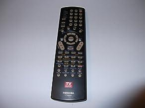 Toshiba OEM Remote Control for Select Toshiba TVs - Black (CT-90236)