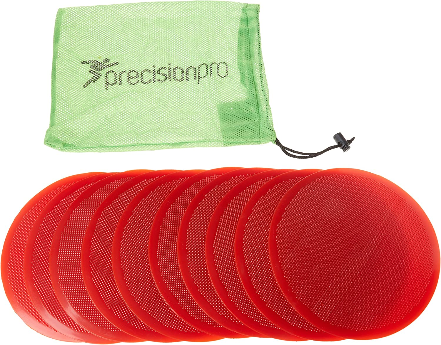 Precision Training Flat Round Markers Pack of 10