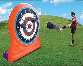 Magic Time International Inflatable Self Sticking Dart Board Soccer Target Game