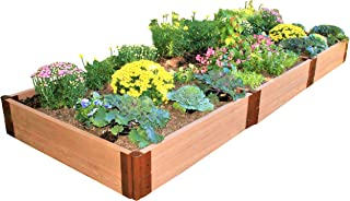 Frame It All Two Inch Series 4ft. x 12ft. x 11in. Composite Raised Garden Bed Kit