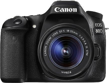 Câmera Canon DSLR EOS 80D kit Lente de 18-55mm