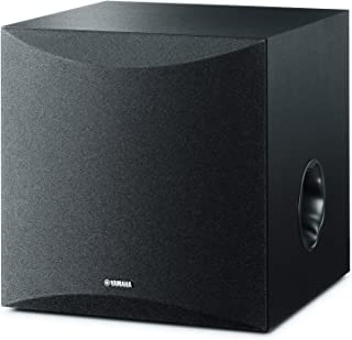 Yamaha Subwoofer Speaker with Twisted Flare Port - NSSW050B (Black)