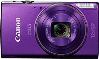 Canon IXUS 285 HS Cámara compacta 202 MP 1/2.3 CMOS 5184 x 3888 Pixeles Púrpura - Cámara Digital (202 MP 5184 x 3888 Pixeles CMOS 12x Full HD Púrpura)