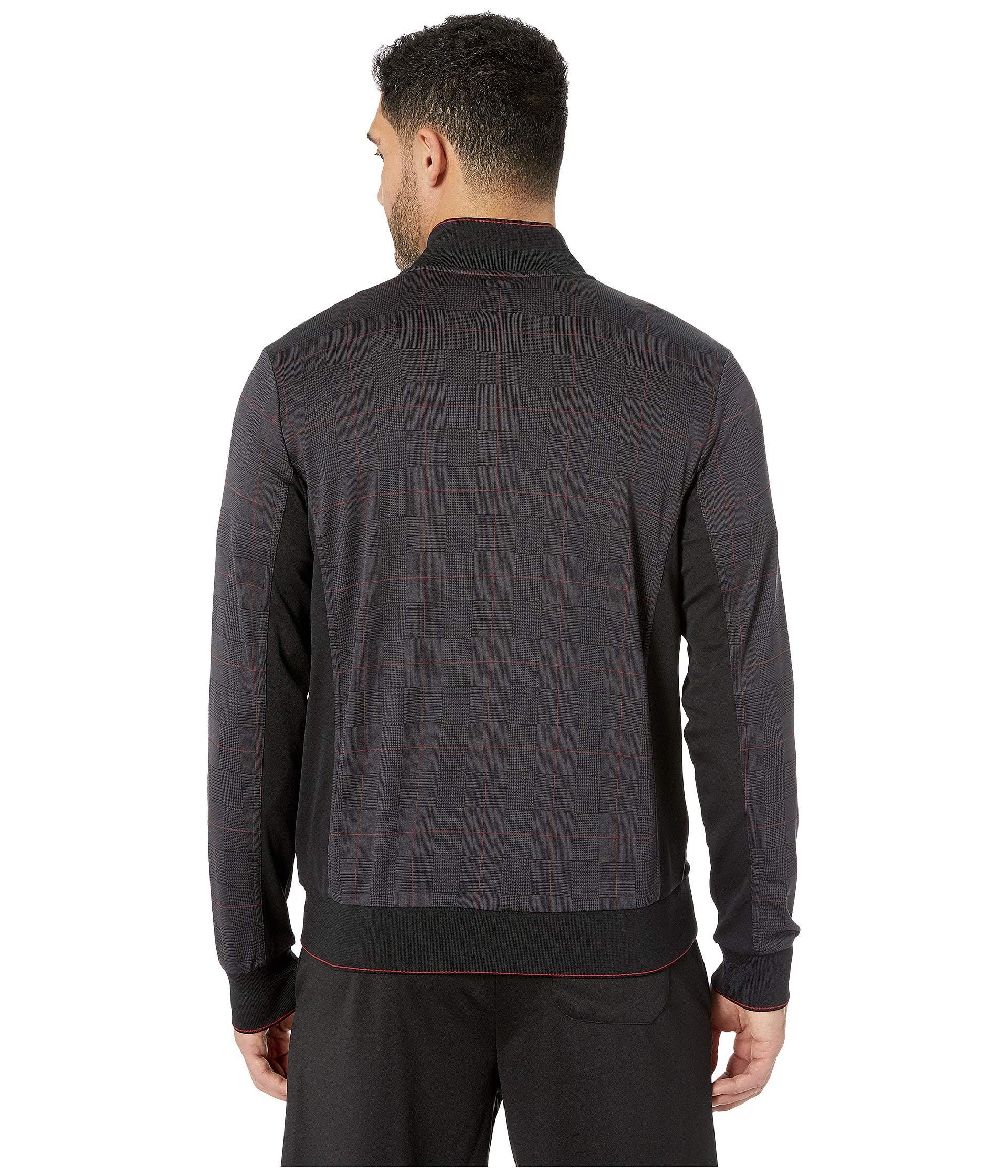 Settanta Glen white Plaid Fila Jacket Tennis black PtT5q5U