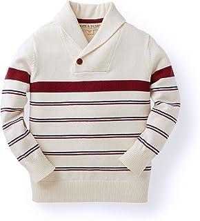 Hope & Henry Boys' Shawl Collar Sweater