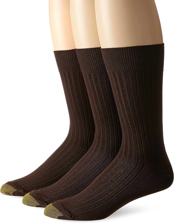 Gold Toe Men's Canterbury Big and Tall Dress Sock