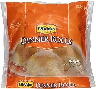 Rhodes, Bake N Serv White Dinner Rolls, 36 rolls (Frozen)