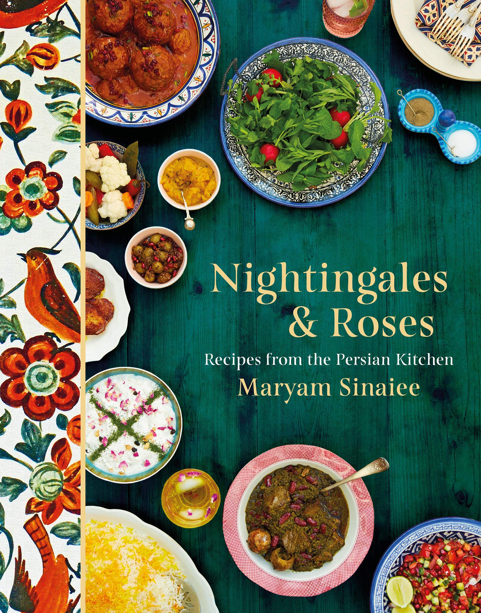Image OfNightingales And Roses: Recipes From The Persian Kitchen (English Edition)
