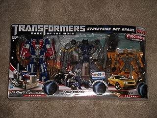 Transformers 3 Dark of the Moon Exclusive Action Figure 3Pack Streetside Bot Brawl Optimus Prime, Shockwave Bumblebee