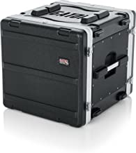 Gator Cases Lightweight Molded 10U Rack Case with Heavy Duty Latches; Standard 19.25