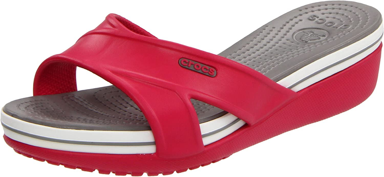 Crocs Women's Crocband Mail order Limited price sale cheap Wedge