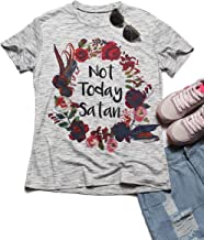 wb/_291218/_2 Quote Image of Not Today Satan Flip Straw 21oz Water Bottle 3dRose Gabriella B