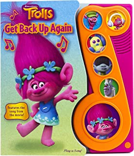 DreamWorks Trolls – Get Back Up Again Little Music Note Sound Book –..