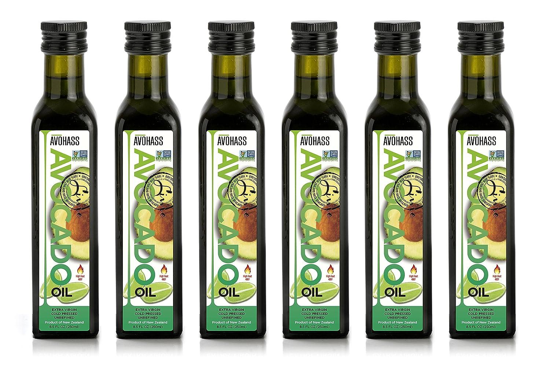 Avohass New Zealand Lime Extra Virgin Case Avocado 6 Bottle Oakland Mall Oil Boston Mall