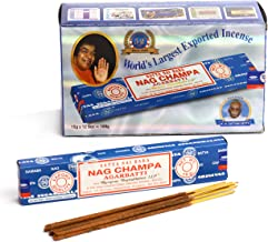 Satya FBA_II100NC Nag Champa Incense Sticks 15 GMS (Special 12 Pack)