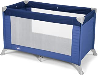comprar comparacion Chicco Goodnight Cuna de viaje ligera, con cierre de paraguas, 8 kg, color azul (Blue)