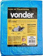 Lona De Polietileno Vonder Azul 3 M X 3 M