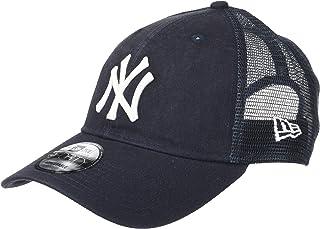 3c3971254d3c6 New Era Hommes 9FORTY Trucker Lavé New York Yankees Mlb Casquette Bleu  Marine Taille Unique Taille