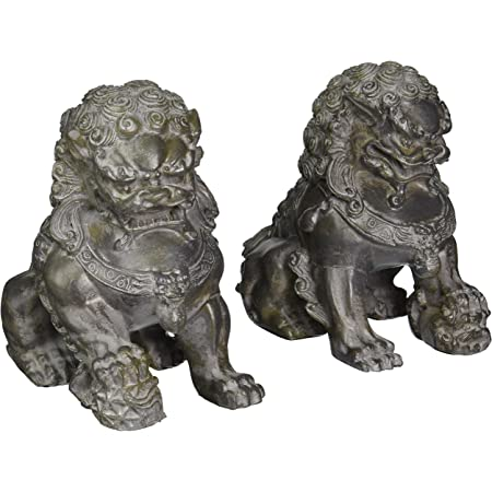 Japanese Lion Dog Foo Lion Guardian Mask Concho Leather Crafting Supply