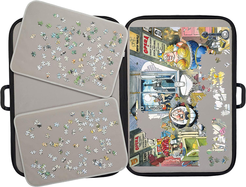 Puzzle Mates 1039 Portapuzzle 1000 Deluxe Jigsaw Puzzle Accessory