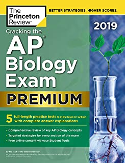 Cracking the AP Biology Exam 2019, Premium Edition: 5 Practice Tests + Complete Content Review (College Test Preparation)
