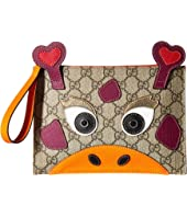 Gucci Kids - GG Supreme Camel Wristlet (Little Kids/Big Kids)