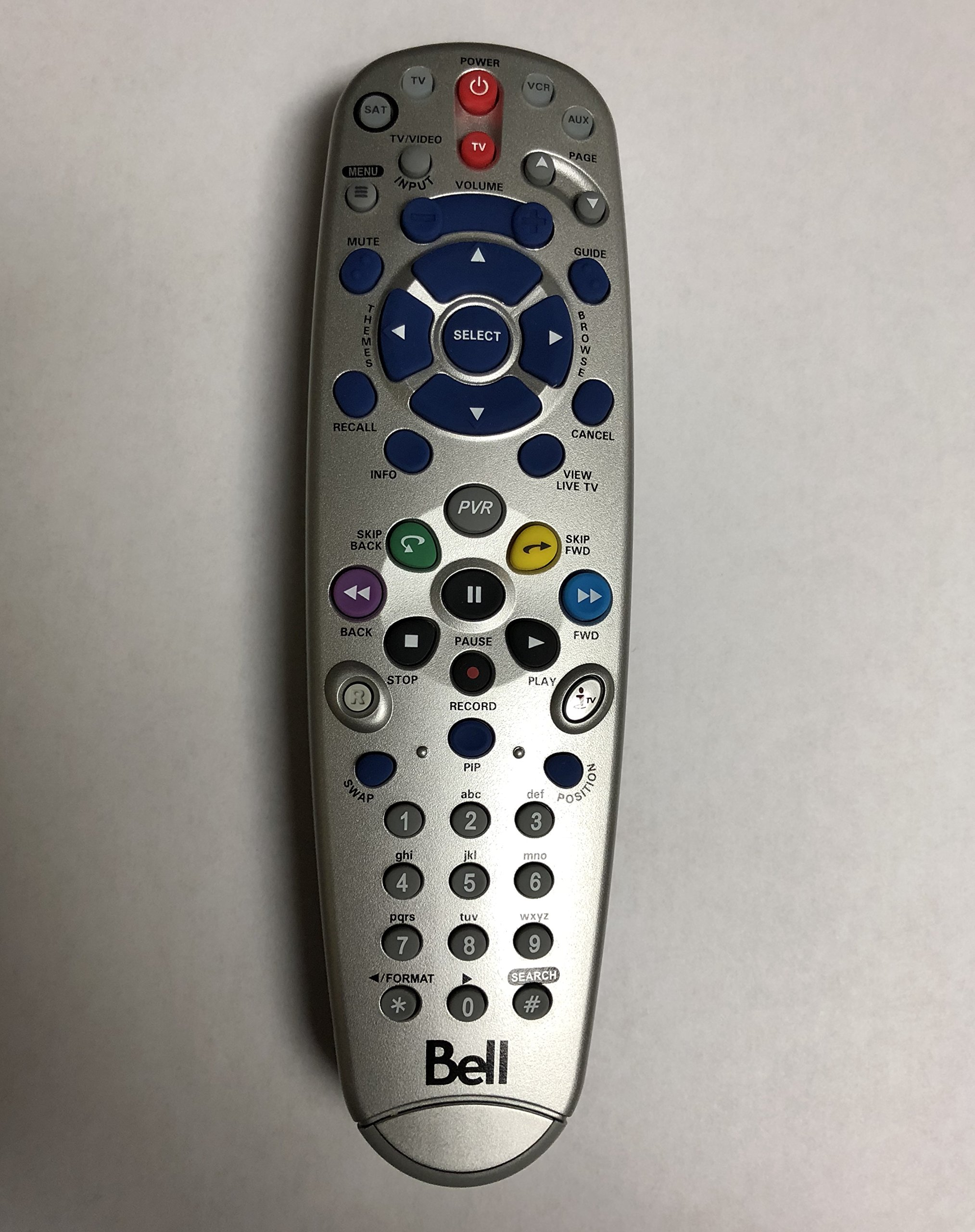 NEW BELL EXPRESSVU 6400 5.4IR REMOTE CONTROL