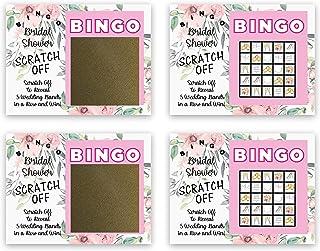 My Scratch Offs Bridal Bingo Scratch Off Game Cards - 26 Cards (24 Sorry - 2 Winner)