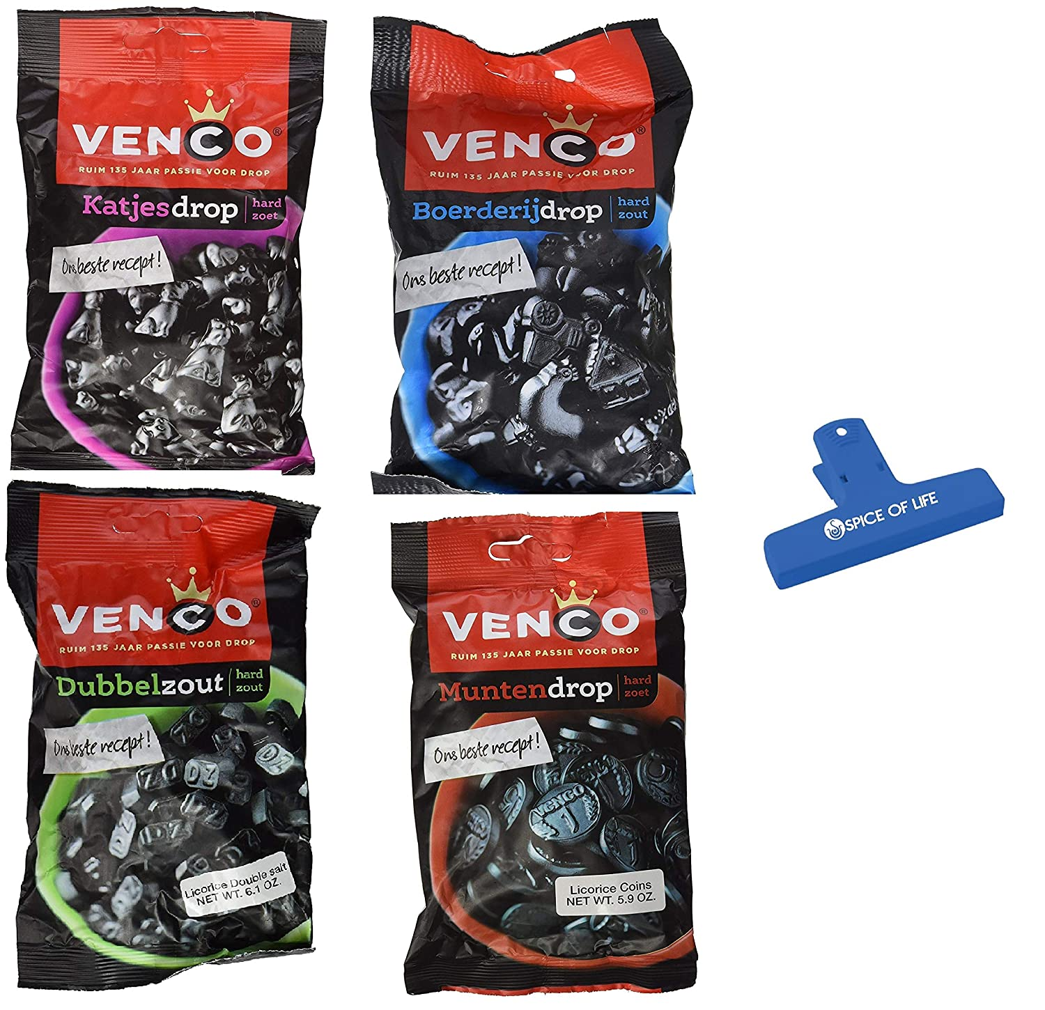Venco Licorice Variety Super Wholesale beauty product restock quality top Pack Double Farm Shap Coin Salt Shaped