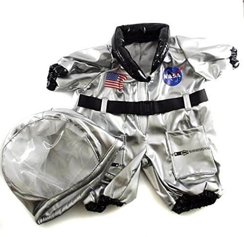 calidad de primera clase Astronaut Astronaut Astronaut Costume Outfit Teddy Bear Clothes Fit 14  - 18  Build-a-bear, Vermont Teddy Bears, and Make Your Own Stuffed Animals by Stuffems Toy Shop  hermoso
