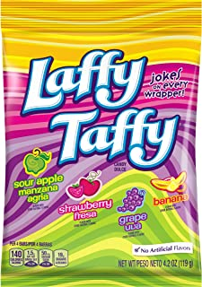 Laffy Taffy Assorted Mini Bars, 4.2 Ounce Bags (Pack of 12)