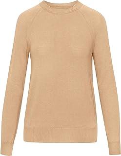Oscar de la Renta Long Sleeve Pullover Sweater