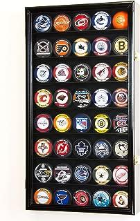 sfDisplay.com, Factory Direct Display Cases 40 Hockey Puck Display Case Cabinet Holder Rack 98% UV